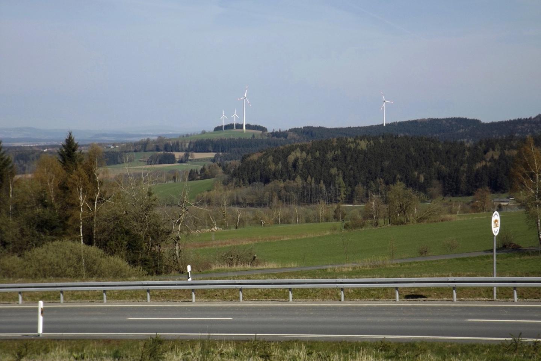 Windräder am Ahornberg