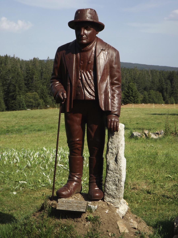 Rankl Sepp, der letzte Riese des Böhmerwlads, in Lebensgröße