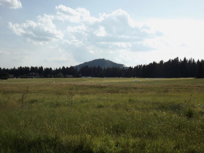 Wiesenland vor dem Sokol
