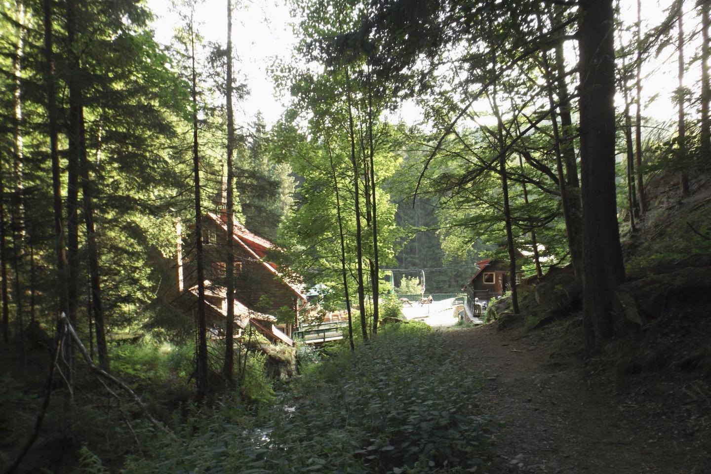 Ankunft an der Turnerhütte
